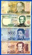Venezuela  9  Billets - Venezuela