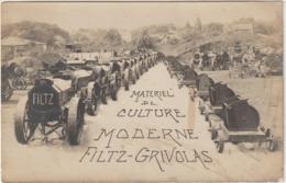 CPA  MATERIEL DE CULTURE MODERNE FILTZ - GRIVOLAS - Tracteurs