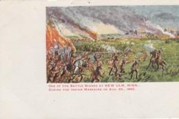 NEW ULM , Minnesota , 00-10s ; Indian Massacre Of 1862 - Indiens De L'Amerique Du Nord