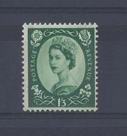 "GB...QUEEN ELIZABETH II.(1952-NOW)...."" WILDING,""........1'3........SG618......MNH... - 1952-.... (Elizabeth II)"
