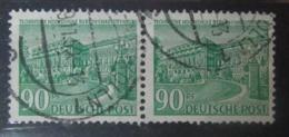 Berlin 1949, Mi. 56 Paar Used GST, TU Berlin Waager. Paar, Value 10,- - Used Stamps