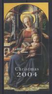 "SERRIA LEONE...QUEEN ELIZABETH II.(1952-NOW)...."" CHRISTMAS...2004....."".....MINI SHEETS...MH.. - Noël"