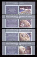 Transnistria 2019 Soviet Program Space Exploration 4v**MNH + 4labels - Moldova