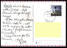 644  Palm Trees - Arbres - Postal Stationery - Used - Cb - 1,65 - Arbres
