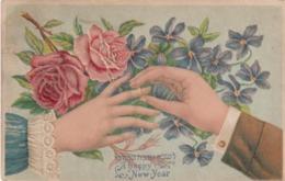 Jewish New Year , Hands , 1910 - Judaika