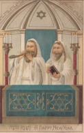 Jewish New Year , 2 Priests , 1910 - Judaisme