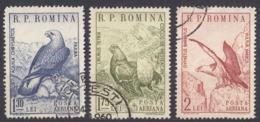 ROMANIA - 1960 - Serie Completa Usata Di 3 Valori: Yvert Posta Aerea 107/109. - Usati