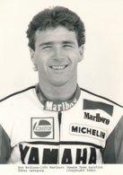 Rob Mc Elnea 1986 Sur Moto 500 Cc - Marlboro Yamaha Team Agostini - Photo 20 X 15 Cm Env. - Sporten