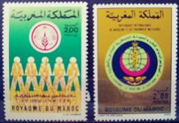 MOROCCO - MNH** - 1986 - # 1000, 1014 - Morocco (1956-...)