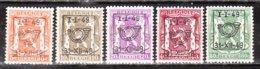 PRE589/93**  Petit Sceau De L'Etat - Année 1949 - Série Complète - MNH** - LOOK!!!! - Precancels