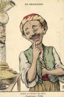A.F.N L Chagny  EN RHAMADAN  Avant Le Coucher Du Soleil ..Couscous ..Taiba EV - Humour