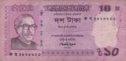Bangladesh - Billet De 10 Taka - Mujibur Rahman - 2012 - P54a - Bangladesh