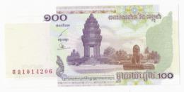 Cambodge - Billet De 100 Riels - 2001 - Neuf - Cambogia