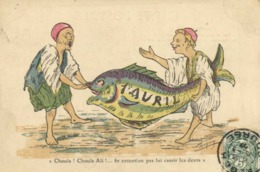 "A.F.N  L Chagny 1er AVRIL  ""Chouia!Chouia Ali! ....fir Entention Ps Lui Cassir Les Dents "". RV - Humour"