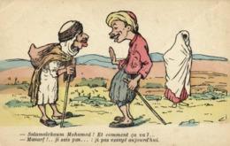 A.F.N  L Chagny - Salamalekoum Mohamed ! Et Comment Ca Va ? -Manarf ! ..ji Sais Pas ..: Ji Pas Essayé Aujourd'hui RV - Humour