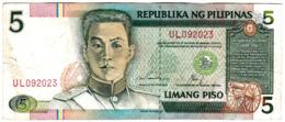Philippines - Billet De 5 Piso - Emilio Aguinaldo - Philippines