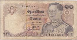 Thaïlande - Billet De 10 Baht - Rama IX - Thailand