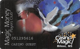 Casino Magic - Biloxi, MS - Slot Card - Casino Guest Printing - Casino Cards