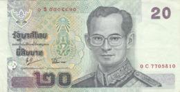 Thaïlande - Billet De 20 Baht - Rama IX - Thailand