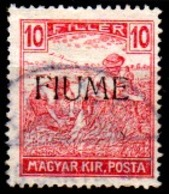 Italia-A-0854 - FIUME 1918-19 (o) Used - Senza Difetti Occulti. - 8. Occupazione 1a Guerra