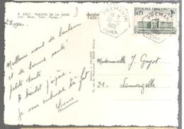 23909 - Recette Auxiliaire PREMANON - Marcofilie (Brieven)
