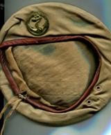 Béret Avec Insigne Troupes De Marine - Uniform