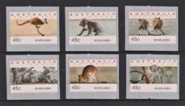 Australia 1994 Koalas & Kangaroos 45c NOARLUNGA Set Of 6 MNH - 1990-99 Elizabeth II