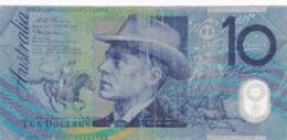 Australie - Billet De 10 Dollars - Paterson & Gilmore - Polymère - P52b - Emissions Gouvernementales Décimales 1966-...