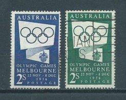1954/55 Australia Olympic Games Melbourne Used/gebruikt/oblitere - Gebruikt