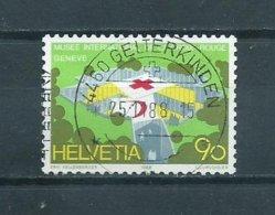 1988 Switzerland 4460 GELTERKINDEN Used/gebruikt/oblitere - Oblitérés