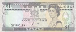 Iles Fidji - Billet De 1 Dollar - Elizabeth II - Non Daté (1991) - P89a - Neuf - Fidji
