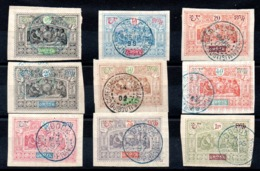 OBOCK - YT N° 51 à 59 - Cote: 104,00 € - Obock (1892-1899)