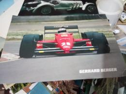 FERARI  AUTO CAR  CORSE  F1  88C  GERHARD BERGER N°28 N1995 HF1264 - Grand Prix / F1
