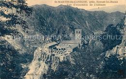 13483402 Saint_Martin_du_Canigou Vue D'ensemble De L'Abbaye Kloster Saint_Martin - Perpignan