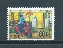 1997 Aruba 80 Cent Post Used/gebruikt/oblitere - Curaçao, Nederlandse Antillen, Aruba