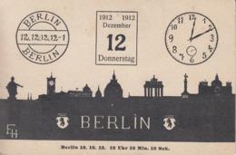 Carte  Postale   ALLEMAGNE   Le   12/12/1912    BERLIN   12  Décembre  1912 - Deutschland