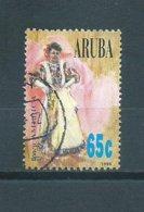 1996 Aruba 65 Cent Costumes Used/gebruikt/oblitere - Curaçao, Nederlandse Antillen, Aruba