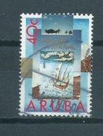 1992 Aruba 40 Cent Discovery Of America Used/gebruikt/oblitere - Curaçao, Nederlandse Antillen, Aruba