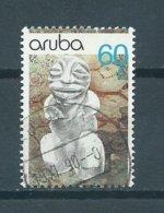 1990 Aruba 60 Cent Archeology Used/gebruikt/oblitere - Curaçao, Nederlandse Antillen, Aruba