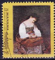 Ajman-Manama - Büßende Maria Magdalena; Von Caravaggio (MiNr: A959aA) 1972 - Gest Used Obl - Manama
