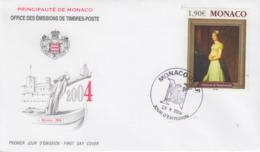 Enveloppe  FDC  1er  Jour   MONACO    STEPHANIE  DE   BEAUHARNAIS   2004 - Napoleon