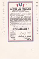 Cpm 10x15. 1965 : XX° Anniversaire De La Libération REPRO . APPEL DU 18 JUIN Du Gal DE GAULLE - Personnages