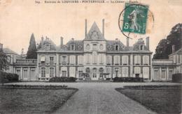 C P A 27] Eure > Louviers Pinterville Le Château Circulée - Pinterville
