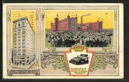 AK Hartford, CT, Royal Typewriter Factory - Hartford