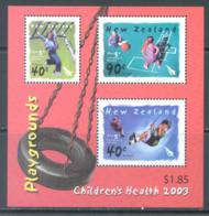 NEW ZEALAND - MNH/**  - 2003 - CHILDREN'S HEALTH PLAYGROUNDS - Yv BLOC 174 -  Lot 20692 - Blocs-feuillets