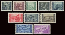 LITORALE SLOVENO OCCUPAZIONE JUGOSLAVA 1946 SERIE COMPLETA (Sass. 51-60) MLH * - Occup. Iugoslava: Litorale Sloveno