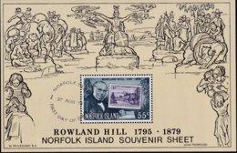 Norfolk Island 1979 Rowland Hill Sc 248a Used - Norfolk Island