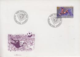 Enveloppe  FDC  1er  Jour   LIECHTENSTEIN    Coupe  Du  Monde  De  FOOTBALL   ITALIE    1990 - FDC
