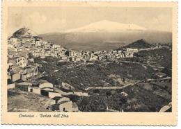 EN009 - CENTURIPE - VEDUTA DELL'ETNA - ENNA - F.G. VIAGGIATA 1957 - Enna