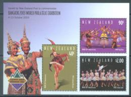 NEW ZEALAND - MNH/**  - 2003 - BANGKOK EXPO BALLET - Yv BLOC 175 -  Lot 20693 - Blocs-feuillets
